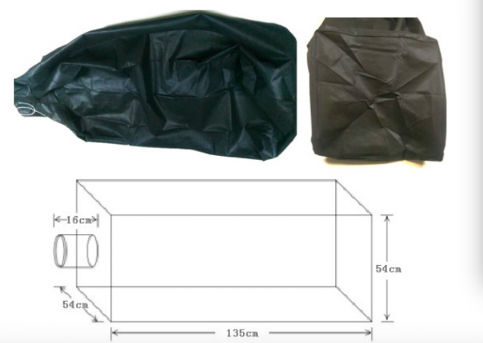 Rectangle Shape Insulation Vacuum Bags , Non - Woven Attic Insulation Bags