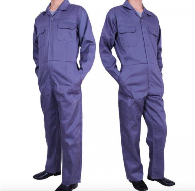 Durable Lightweight Fire Resistant Clothing Unisex Anti - Shrink With Double Zippers