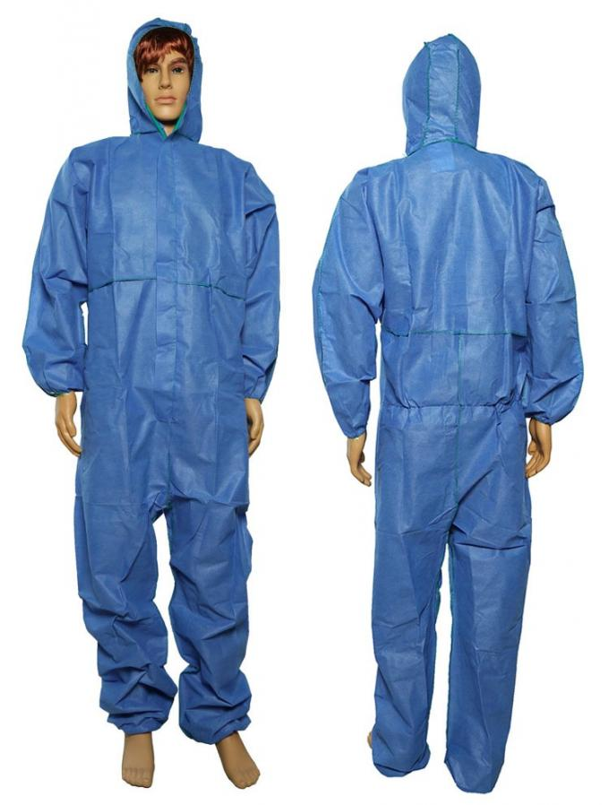 Waterproofing Disposable Full Body Suit Protective Against Particulate Matter