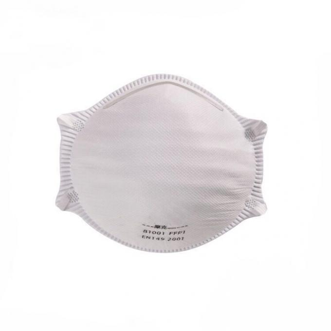 Anti Virus Disposable Face Mask Comfortable Without Valve Or Inner PUV Seal