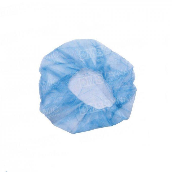 Fluid Resistant Clear Disposable Shower Caps Comfortable With Soft Material