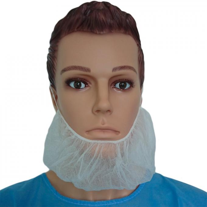 Medical Beard Covers Disposable , Non Woven Dust Proof Surgical Beard Cover