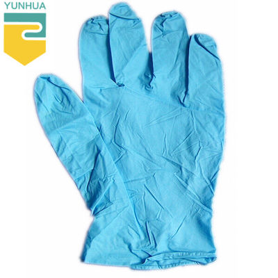 China Resistant Static Nitrile Gloves Chemical Resistance For Family Hygienic Protection supplier