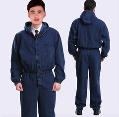 China Cotton Flame Retardant Insulated Coveralls , Acidproof Fire Protective Clothing supplier