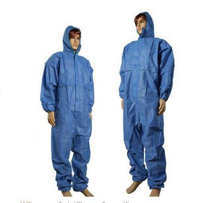 China Waterproofing Disposable Full Body Suit Protective Against Particulate Matter supplier