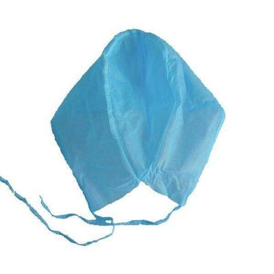 China Breathable Disposable Bouffant Caps , Colorful Disposable Surgical Caps For Doctors supplier