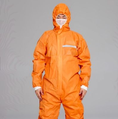 China Disposable Non Woven Protecting Coverall Protecting Suits supplier