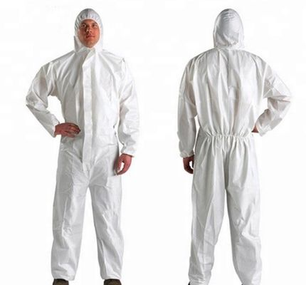 China High Quality SMS Chemical Protective Safety Suite / Clothing/ Coverall supplier