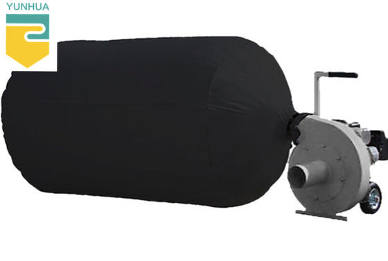 Black Colour Insulation Vacuum Bags Breathable Heavy Duty Environment Friendly