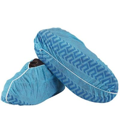 Non - Skid Disposable Shoe Covers , Breathable Non Woven Disposable Indoor Shoe Covers