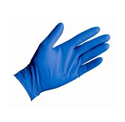 Smooth Surfaces Heavy Duty Nitrile Disposable Gloves With FDA Certificate